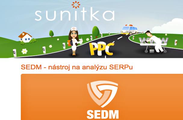 Český nástroj pro analýzu klíčových slov - SEDM.