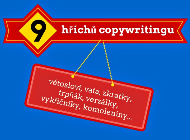 9 hříchů copywritingu.