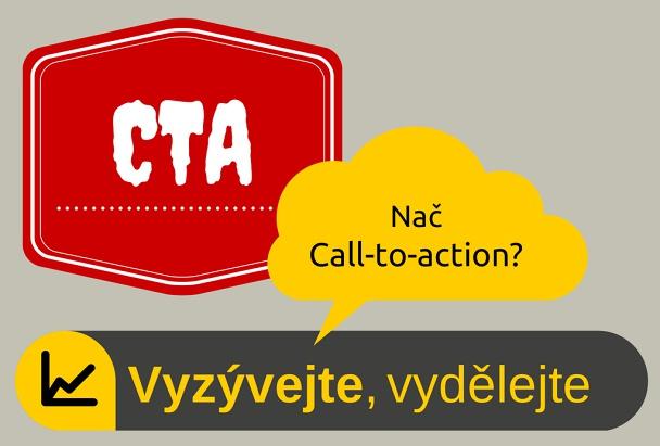 CTA, call to action, výzva k akci pro copywriting.