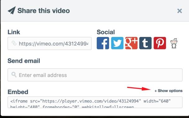 Jak vložit do článku video z Vimeo.