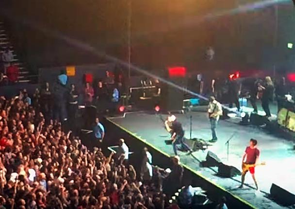 Australský koncert kapely Blur.