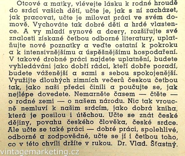 Sdělení studentům a mládeži v prosinci 1939.