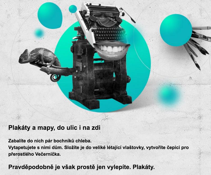 Texty pro tiskárnu Apromotion.
