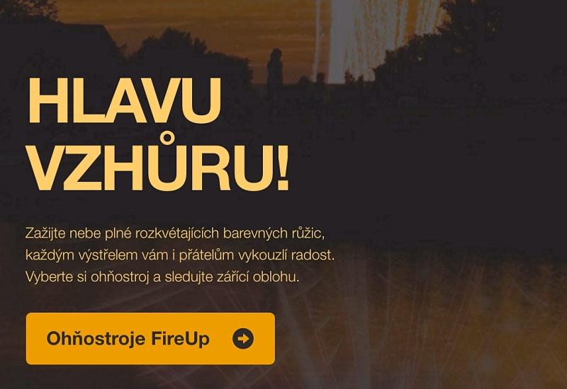 Texty na web FireUp.